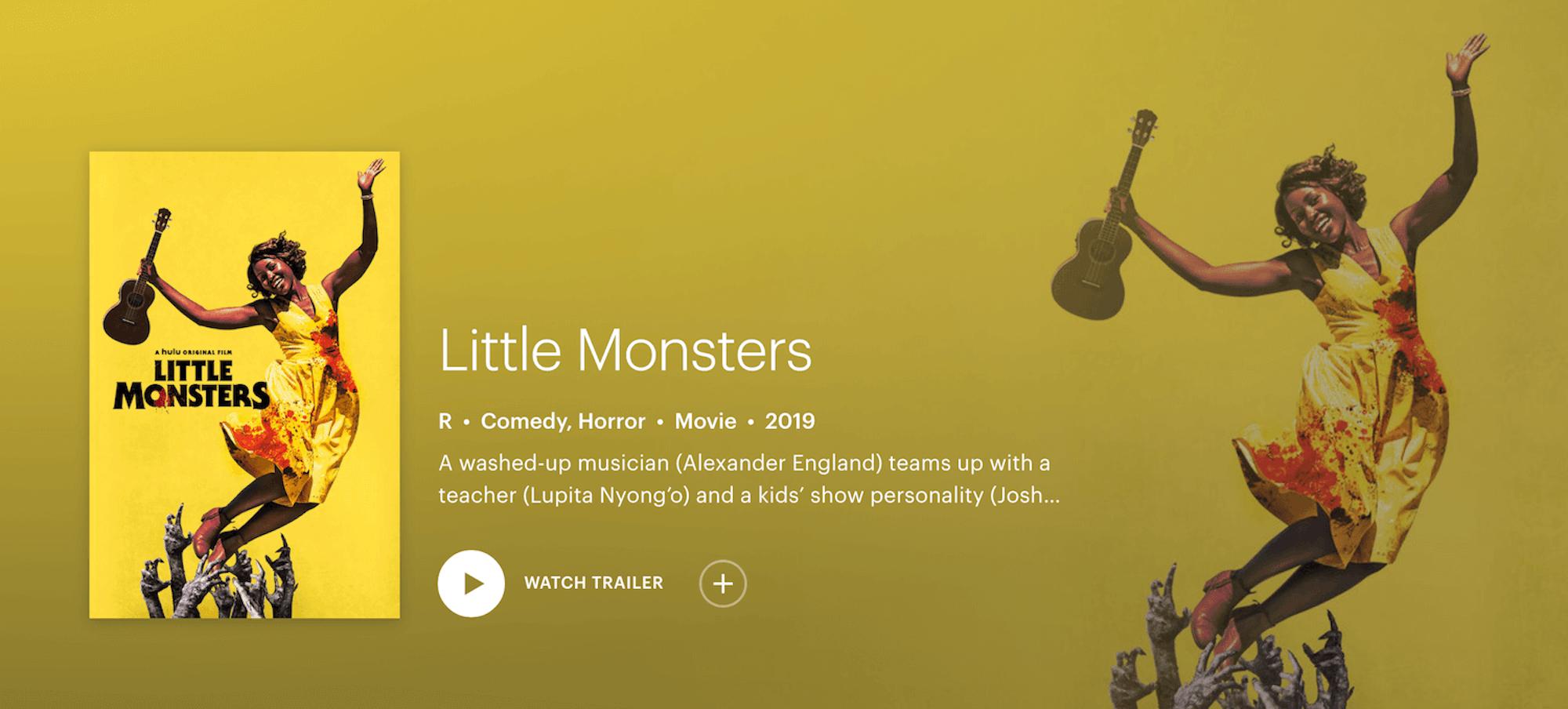 watch little Monsters on Hulu