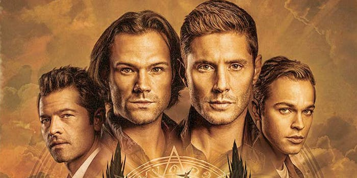 watch supernatural season 15