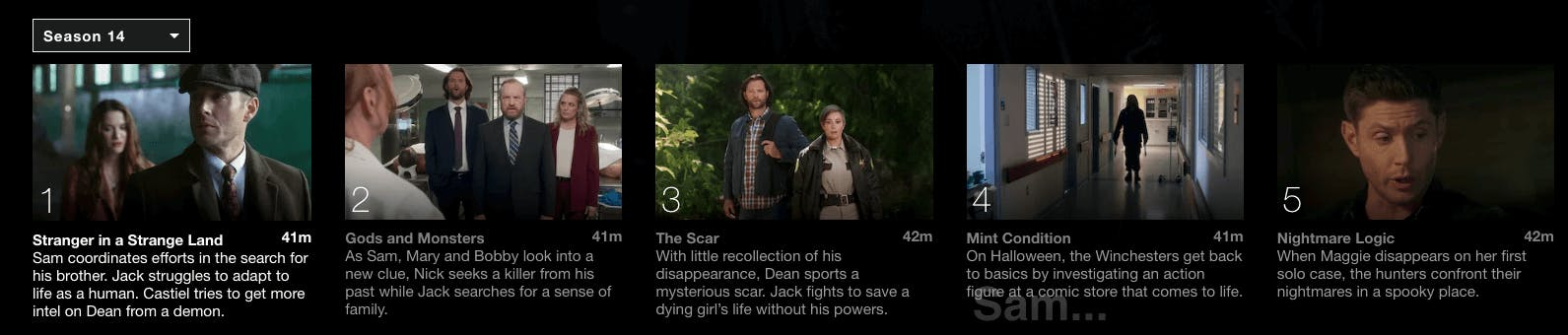 watch supernatural season 15 on Netflix