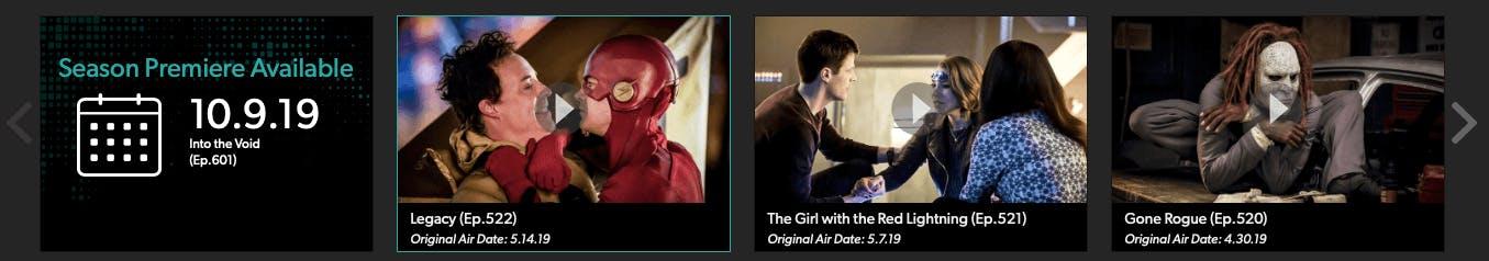 watch the flash season 6 on the CW