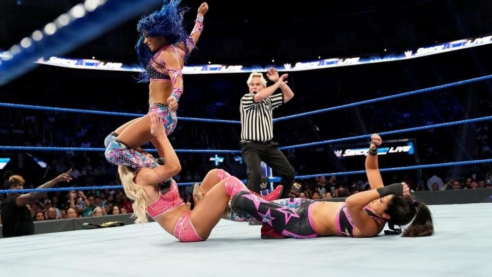 WWE Smackdown live stream Charlotte Flair Sasha Banks
