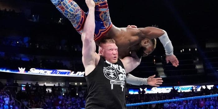 WWE Smackdown live stream Kofi Kingston vs Brock Lesnar