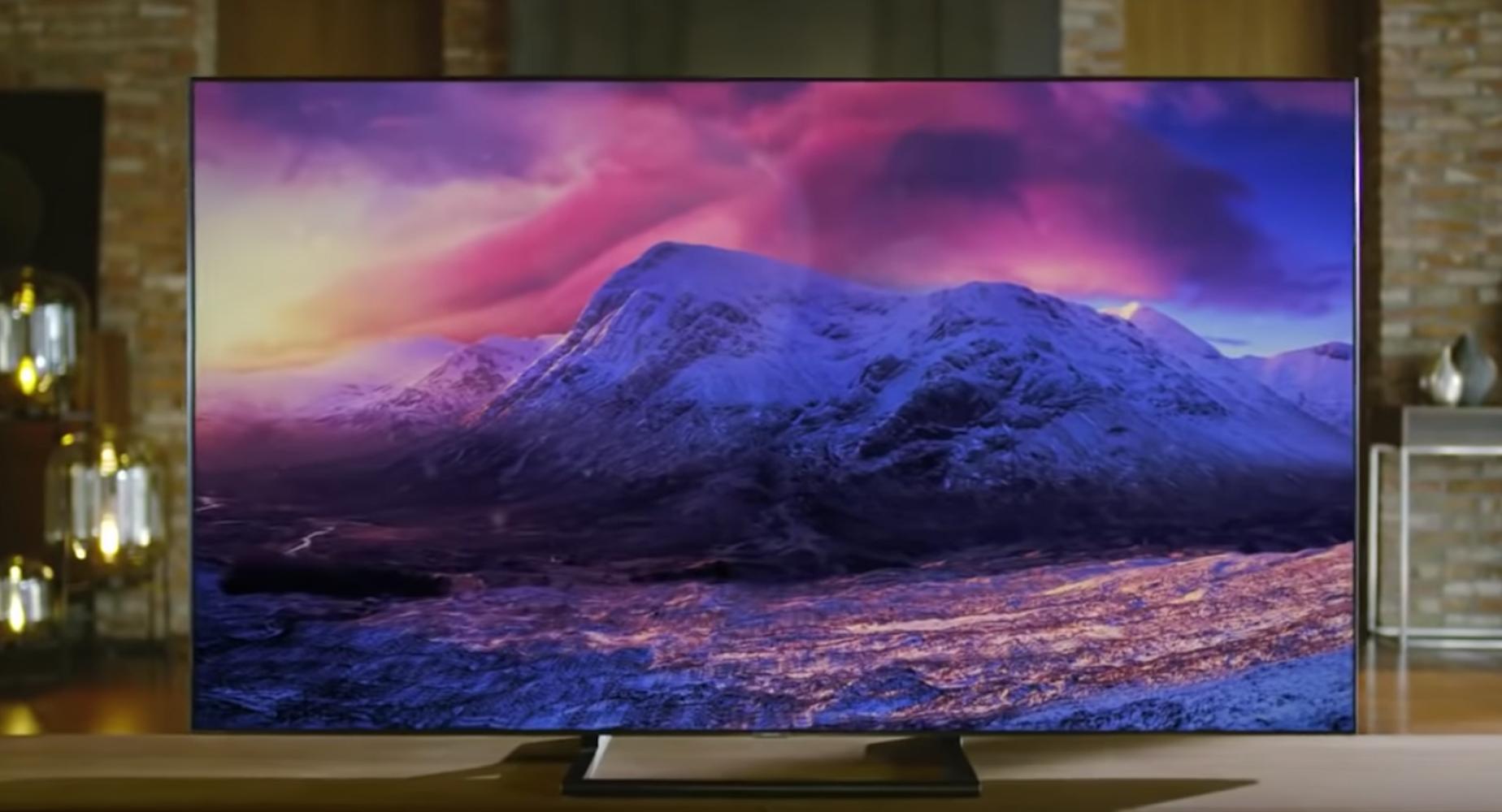 4K Smart TV display