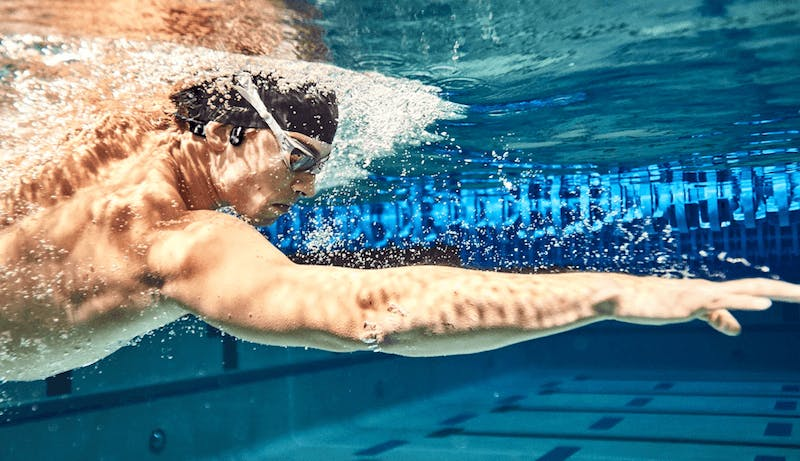 AfterShokz Xtrainerz headphones for swimming