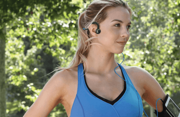 Aftershokz Sportz Titanium with Mic