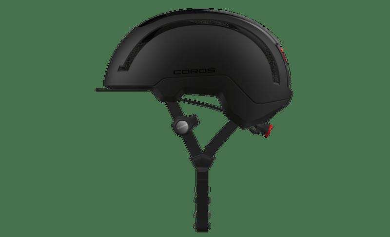 Coros Urban bicycling helmet with built-in earless headphones