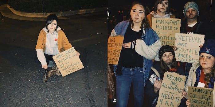 northern-arizona-university-homeless-costumes