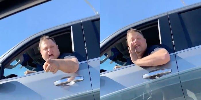 white-man-n-word-black-woman-road-rage