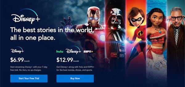 Disney+ free bundle