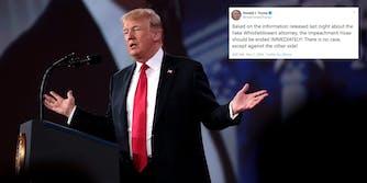 Donald Trump Whistleblower