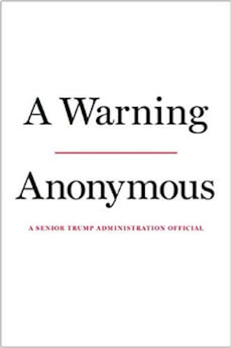 Donald Trump books A Warning