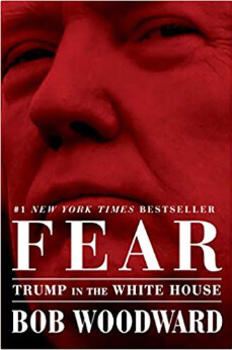 Donald Trump books Fear