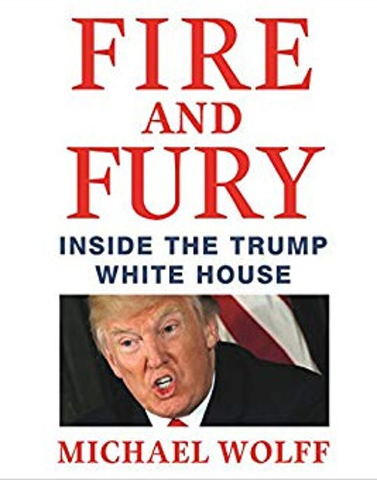 Donald Trump books Fire And Fury