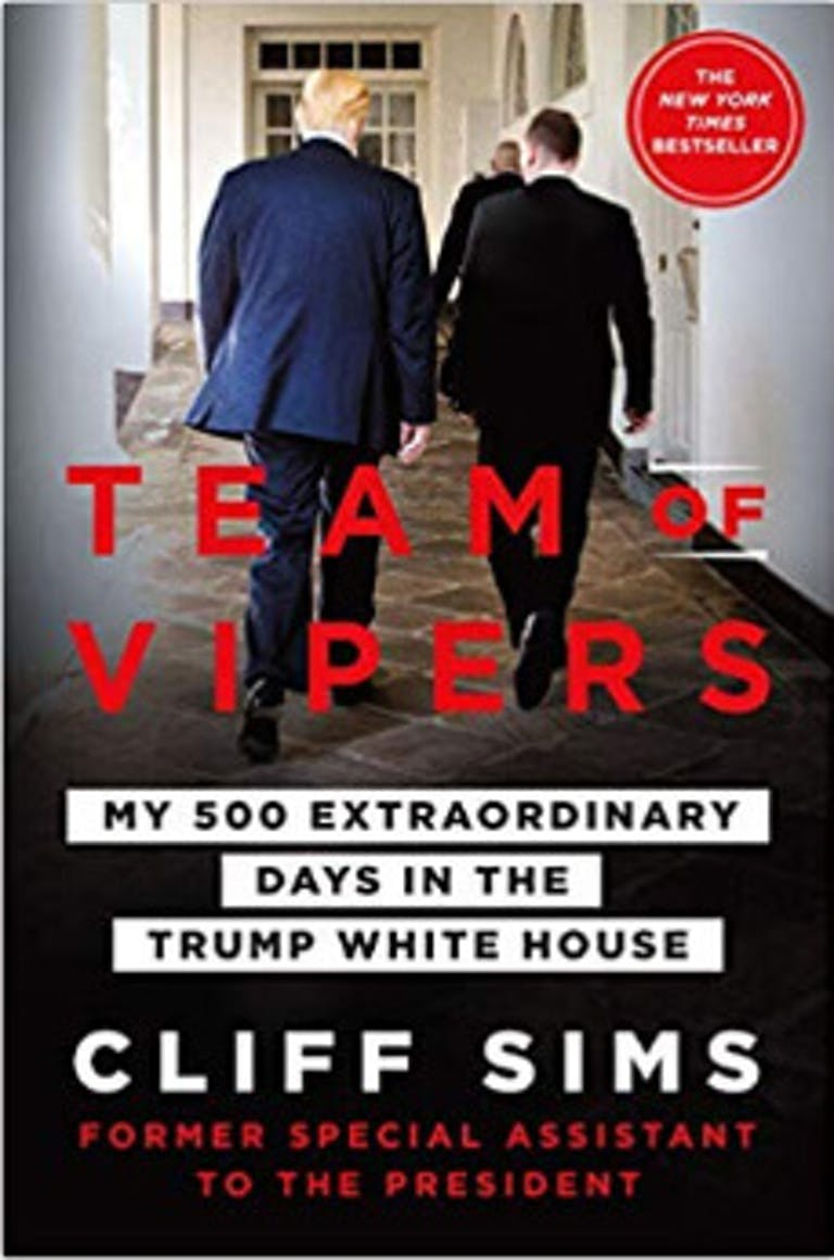 Donald Trump books Team of Vipers