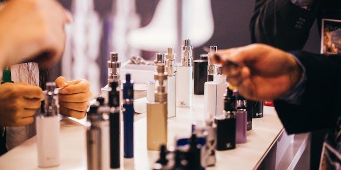 E-Cigarettes Vape Shop Flavor Ban