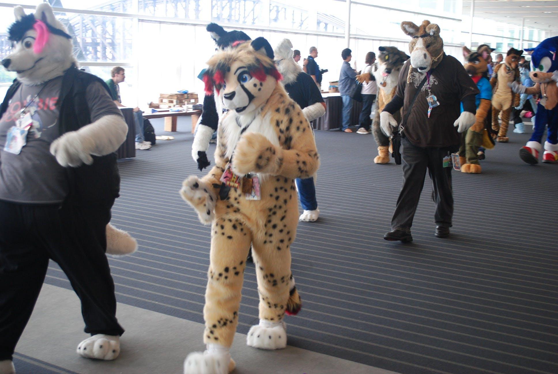 Furry Convention Fursuit