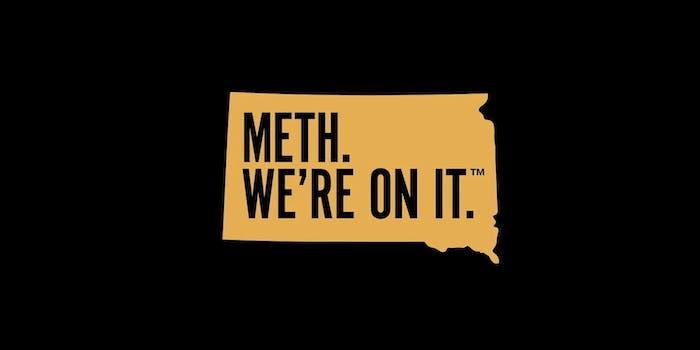 Meth We're On It South Dakota Ads