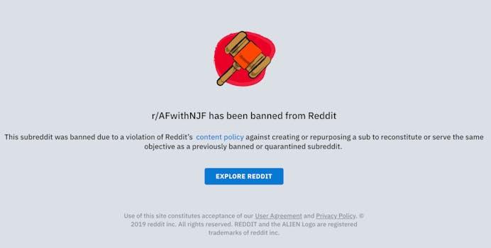 america first nick fuente banned reddit