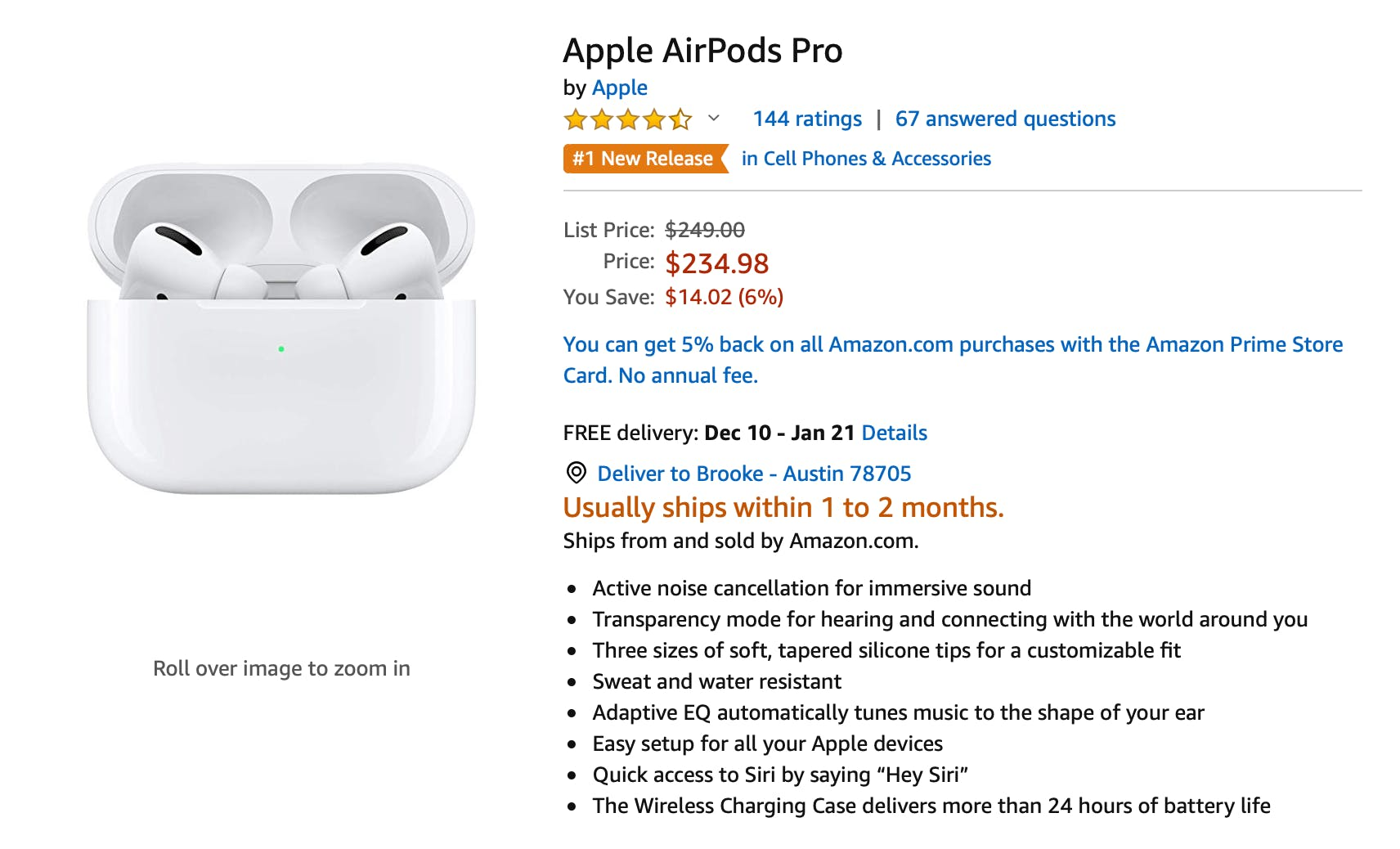 airpods black friday