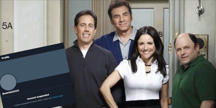 Seinfeld2000 suspended