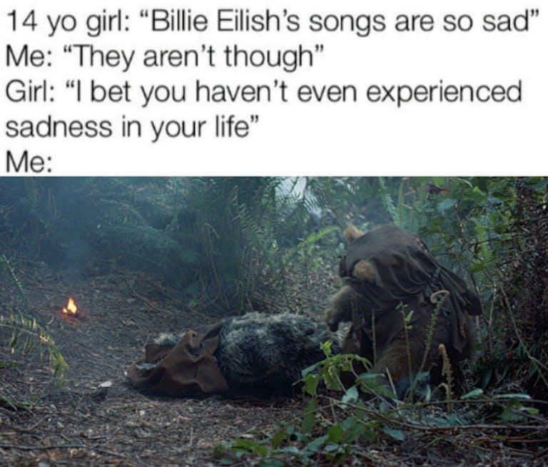 funny Star Wars memes - Ewok