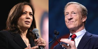Tom Steyer Kamala Harris