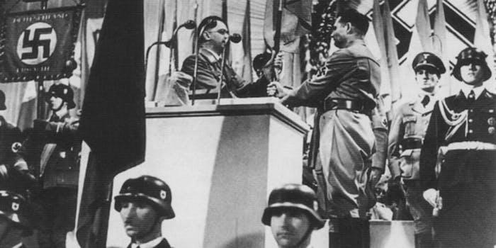 anti-nazi tweet anniversary