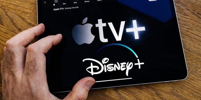 apple tv and disney plus