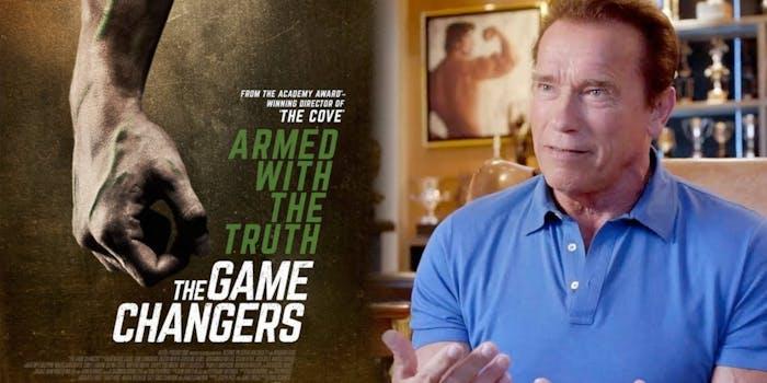 arnold schwarzenegger movies netflix the game changers
