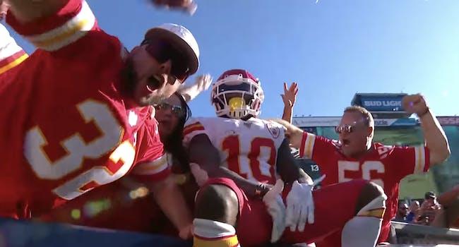 chiefs touchdown celebration