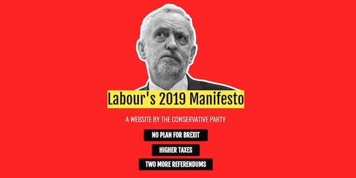 fake labour website