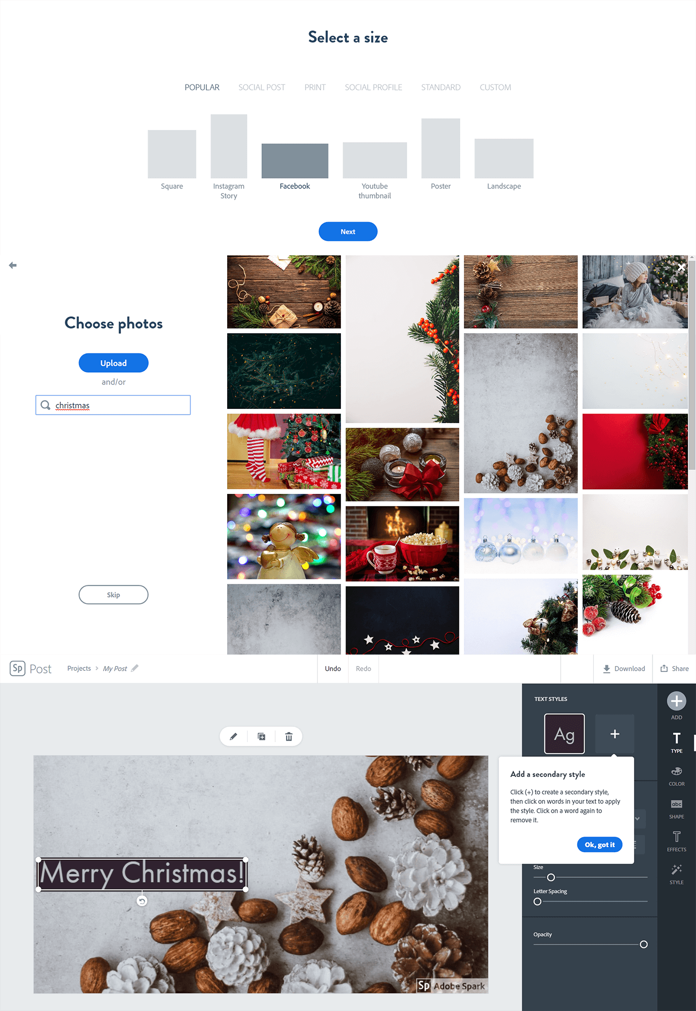 online christmas cards