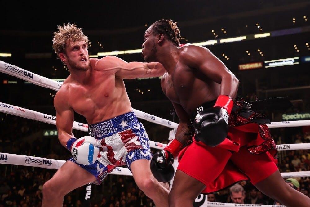 Logan Paul vs KSI match career YouTube