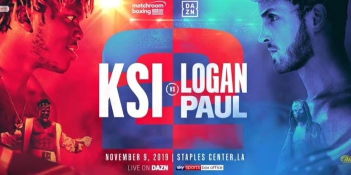 Logan Paul vs KSI slow ticket sales