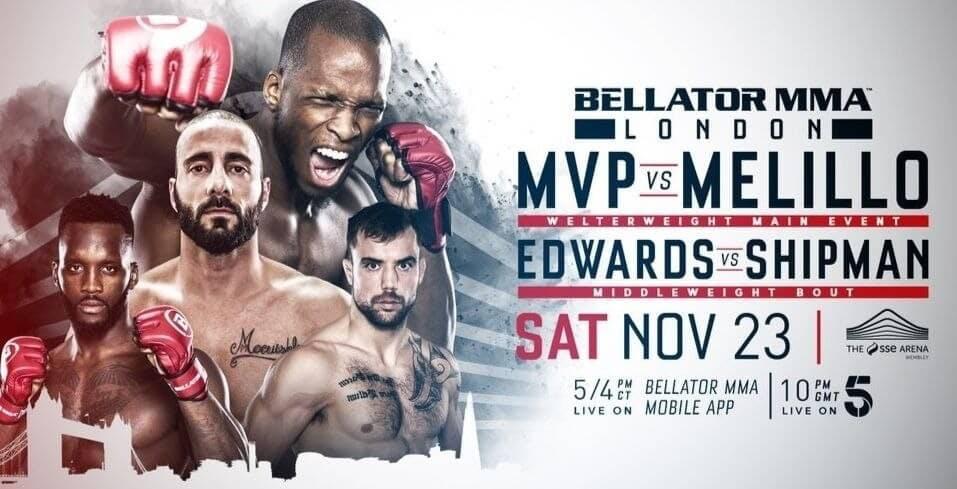 MVP vs Melillo live stream Bellator