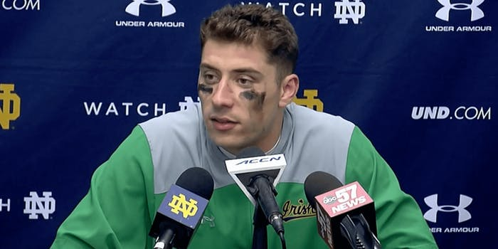 navy notre dame streaming