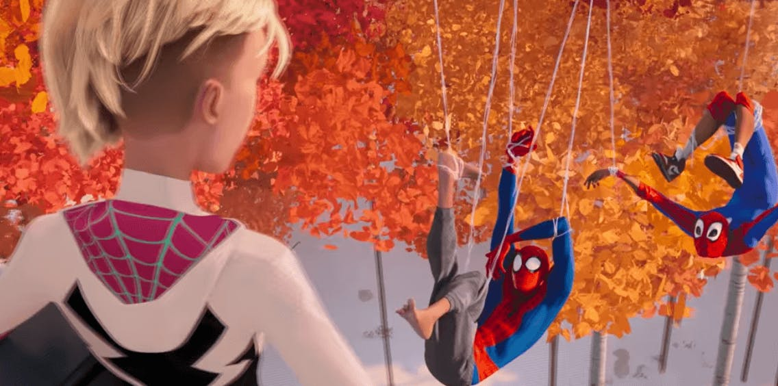 into the spider-verse nicolas cage movies netflix