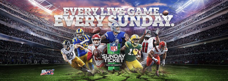 packers panthers NFL Sunday Ticket streaming