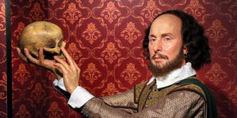 shakespeare ai wax figure