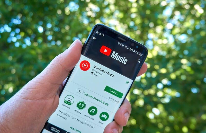 Spotify alternatives: YouTube Music