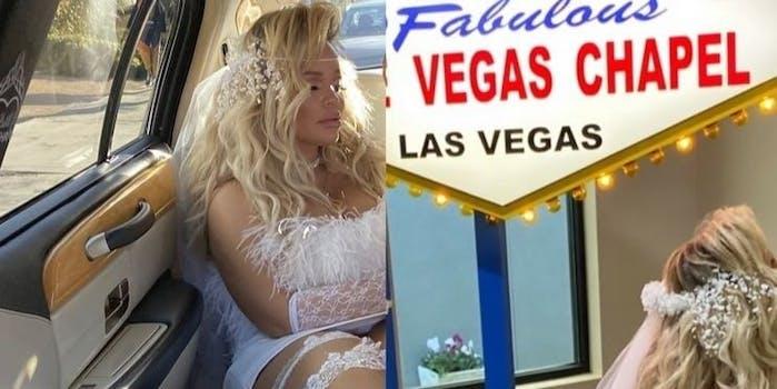 Trisha Paytas married Las Vegas