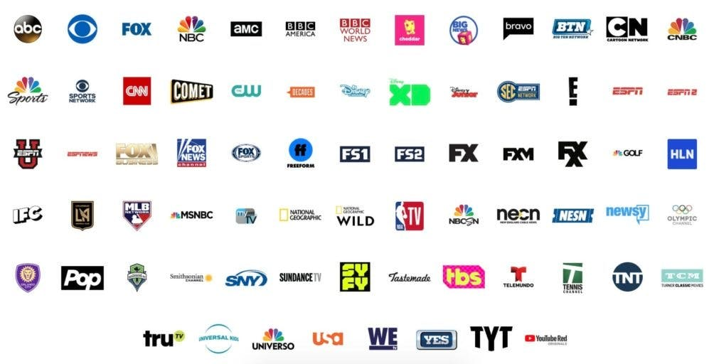 watch nba games live stream youtube tv live tv channels Lakers Pelicans