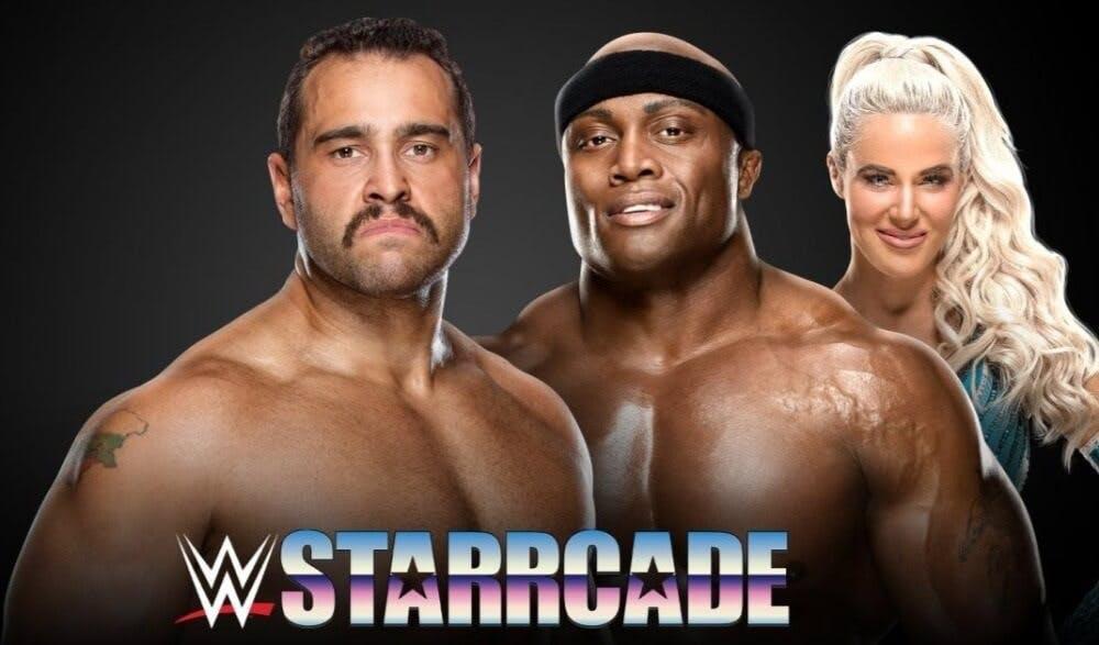 WWE Starrcade stream Rusev vs Bobby Lashley