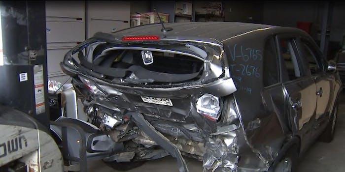YouTube police officer crash Gwinnett County