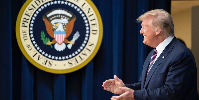 trump impeachment argument