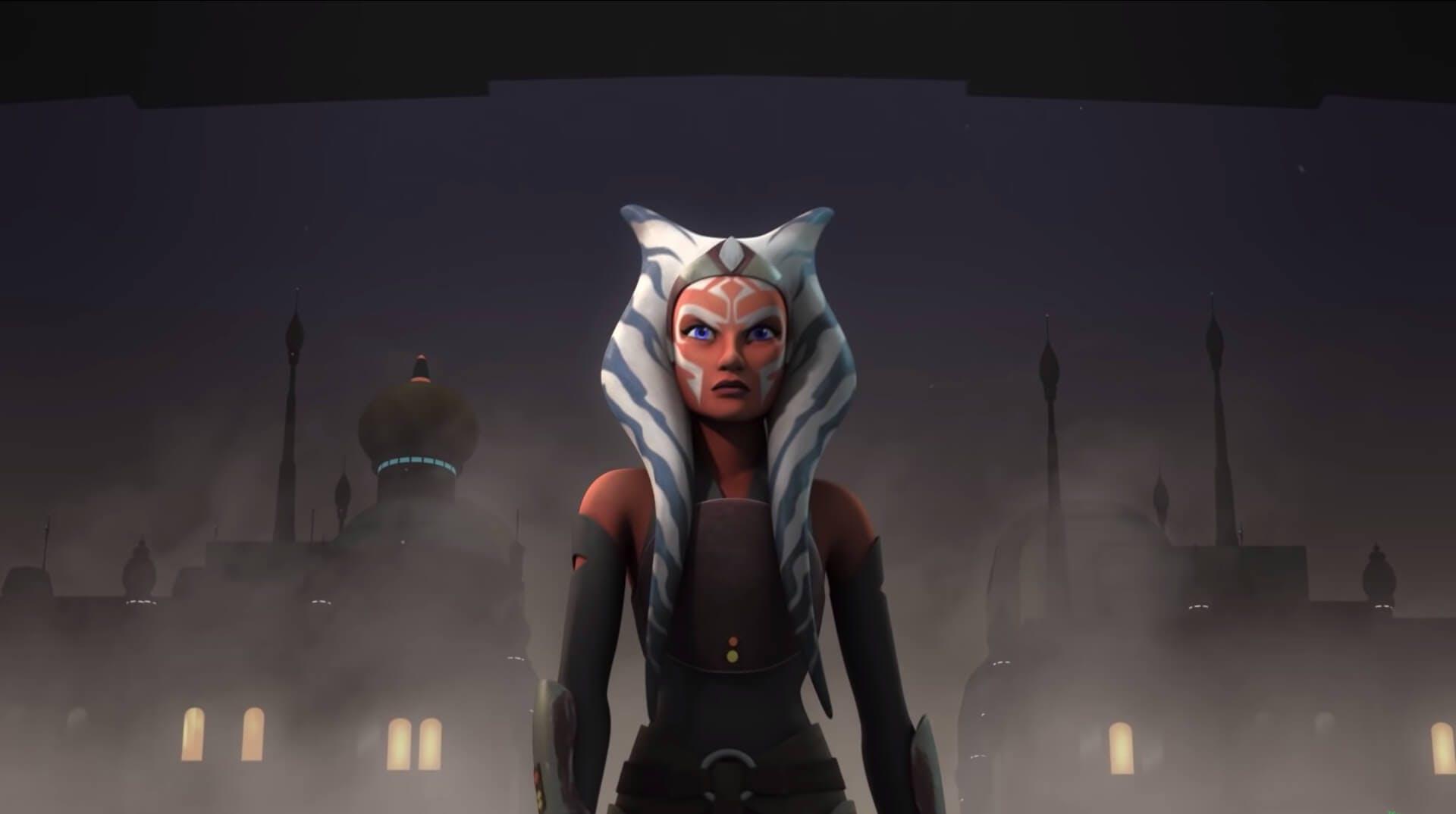 An image showing Ahsoka Tano from Star Wars