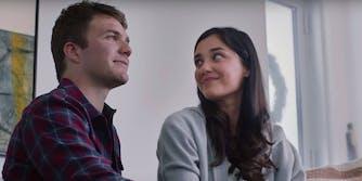 A screenshot from Peloton ad