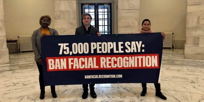 Facial Recognition Congress Petitions Fight for the Future