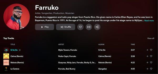 Farruko - TIDAL