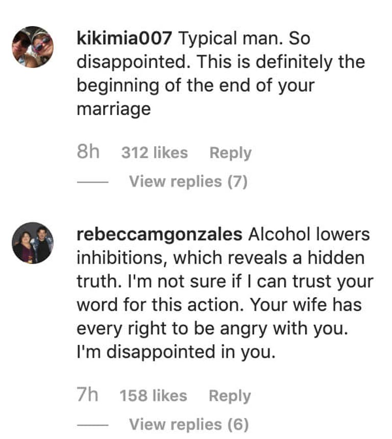 Justin Timberlake - instagram comments 2
